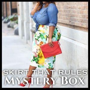 Dresses & Skirts - SKIRT THAT RULES MYSTERY BOX (3 SKIRTS)